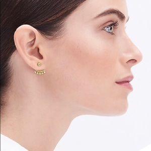NWT J. Crew crystal bud earrings